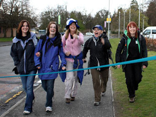 TACC Kiltwalk, Sunday 10th April 2011